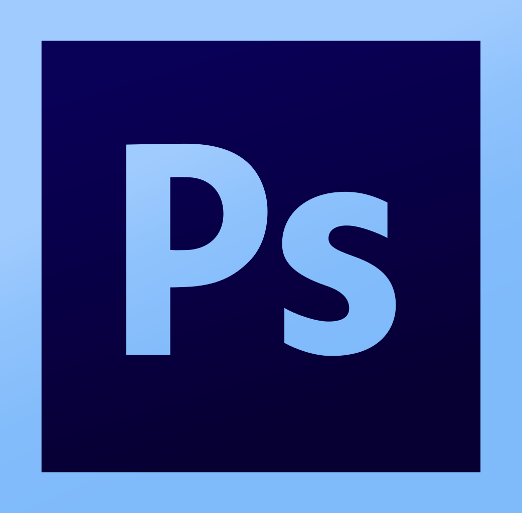 image showing the logo of Photoshop