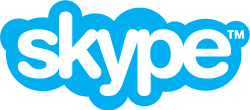image showing the logo of Skype